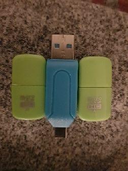 USB para SD y Micro sd