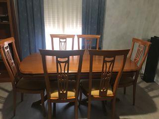 Mesa Salon 6 sillas