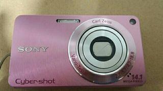 Cámara rosa 14MP digital Sony Cyber-Shot DSC-W530