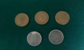 monedas españolas antiguad