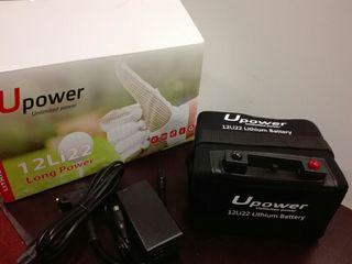 bateria de litio 22 amperios para carrito de golf
