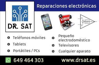 Reparaciones electrónicas, móvil, ordenadores. 24h