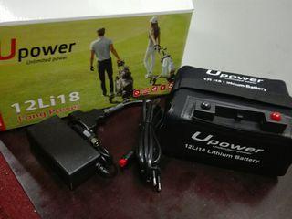bateria de litio para carritos de golf