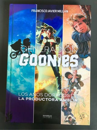 Generacion Goonies libro 80s
