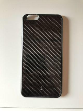 Funda de Iphone6+ de fibra de carbono.