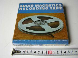 CINTA MAGNETICA 42458 AUDIO MAGNETICS REEL