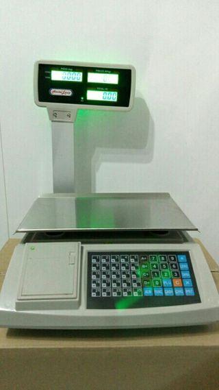 balanza,bascula 4vendedores,2000plus,ticket,nuevas
