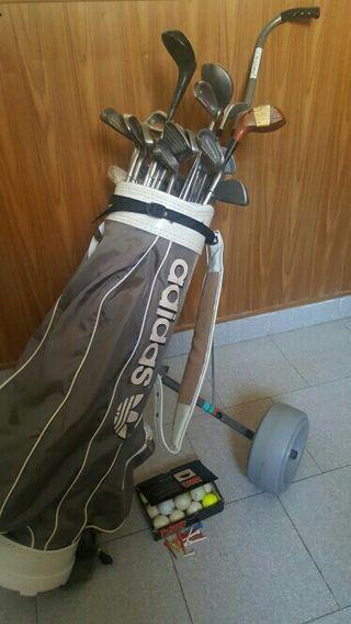 Set palos golf