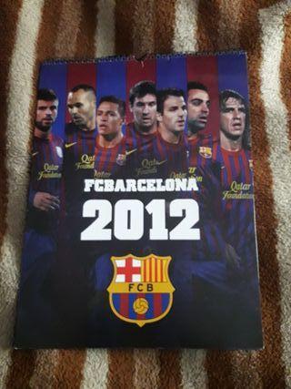 calendario fc barcelona 2012
