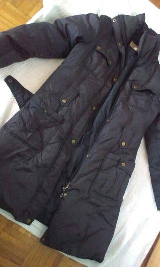abrigo de plumas