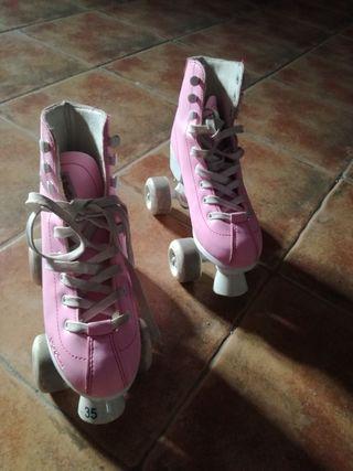 patines entrenamiento