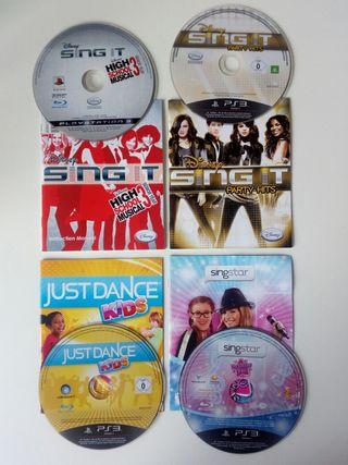 4 Juegos Sing It play 3