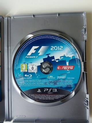 Juego ps3 Formula 2012