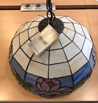 Lámpara colgante Tiffany nueva