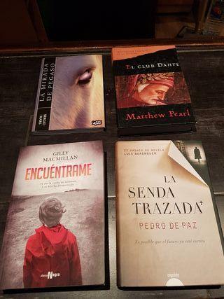 libros. a 5 euros la unidad