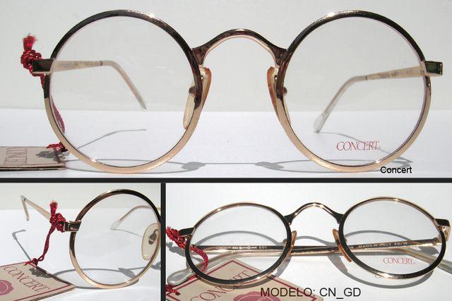 Gafas Vintage redondas metal