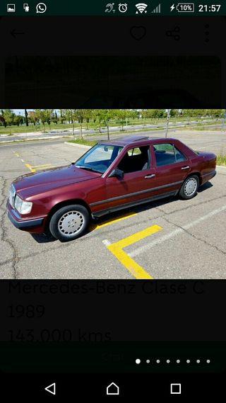 mercedes-benz Clase C 1989