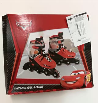 Patines regulables Cars n°35-38 como nuevos