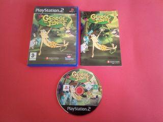 George de la jungla PlayStation 2 PS2