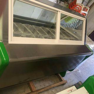 2.5m vitrina de helados nueva 20sabores