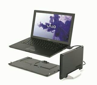 portátil Sony Vaio,8gb,256ssd,bat.extra,dock stat.