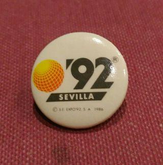 chapas originales Expo 92 Sevilla