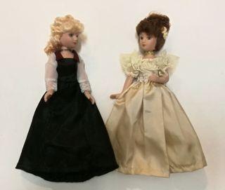 Muñecas de decoración