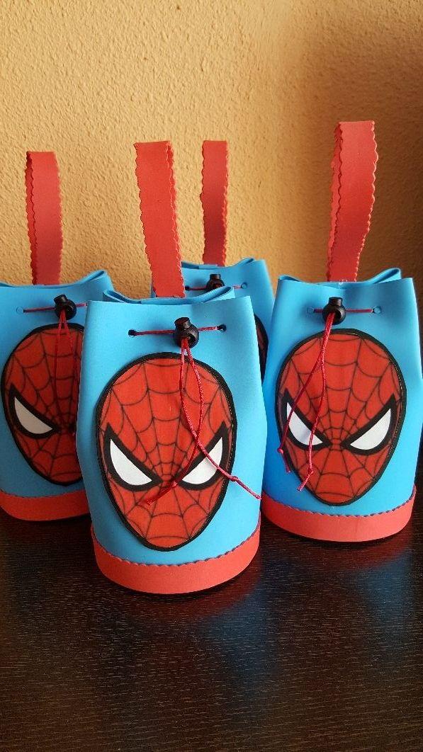 Decoracion Para Cumpleaños Spiderman De Segunda Mano En