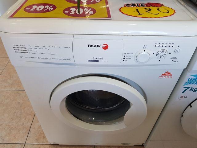 lavadora Corbero 1.000 rpm