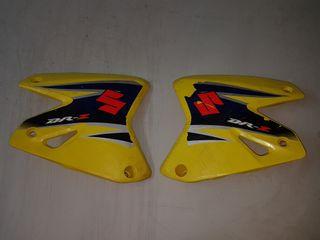 tapas de plastico delanteras suzuki drz 400