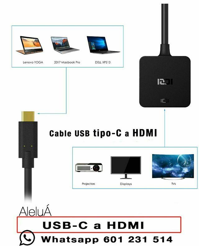 conector tipo C a HDMI iMac Macbook Pro