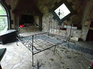 cama hierro forjado