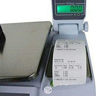 4vendedores,balanza bascula registradora