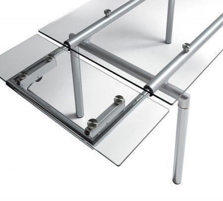 Mesa comedor de vidrio extensible de segunda mano por 150 € en ...