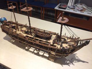 Maqueta hms bounty 1783