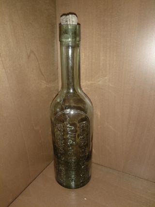 botella vidrio eleixir estomacal saiz de carlos.