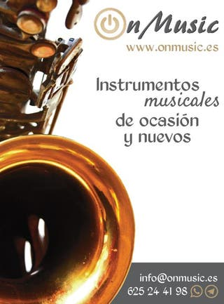 ON MUSIC. INSTRUMENTOS MUSICALES DE OCASION.