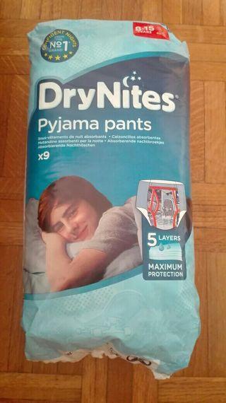 calzoncillos absorbentes Drynites, talla 8-15 años