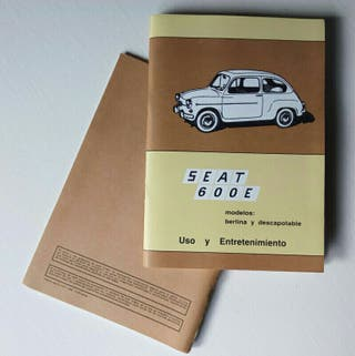SEAT 600E manual usuario, seiscientos