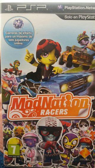 Jyego PSP Modnation Racers!!