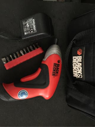 Destornillador black & decker
