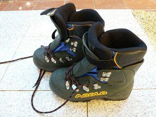 Bota rígida escalada en hielo y alpinismo 38/39