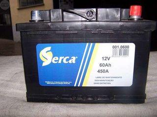 BATERIA SERCA 12v 60ah