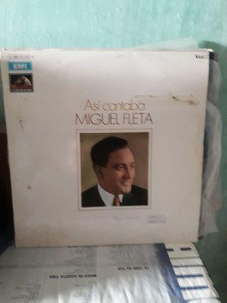 Vinilo Miguel Fleta