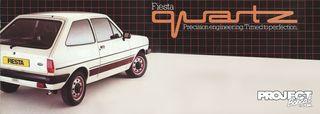 Vinilos Ford Fiesta Quartz
