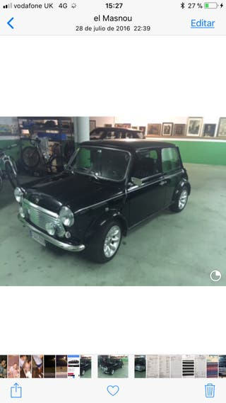 mini cooper 40 Aniversari 1999- Impecable