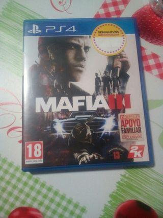 el juego de mafia 3 para play 4