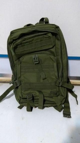 Mochila militar OD 40l (2 usos)