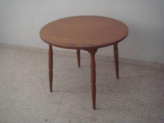 Mesa comedor redonda de segunda mano en sevilla en wallapop - Cristales para mesas redondas ...
