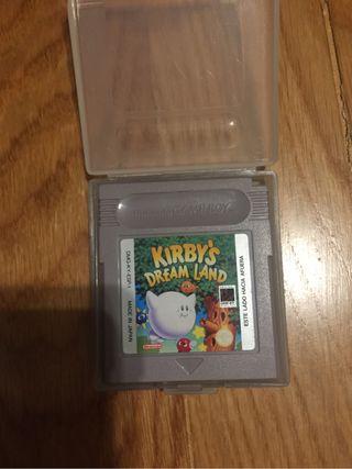 Game boy Kirbys dream land